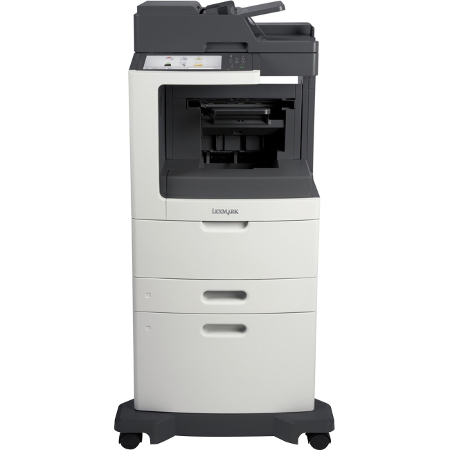 Lexmark Multifunction Laser Printer Government Compliant 24TT191 MX812DXPE