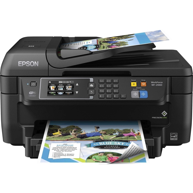 Epson WorkForce Inkjet Multifunction Printer C11CE33201 2660