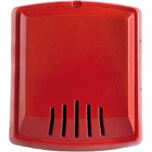 Bosch Wall-Mount Horn (Two-Wire, 12/24 V, Red) W-HNR