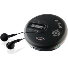 GPX Personal CD Player with FM Radio PC332B