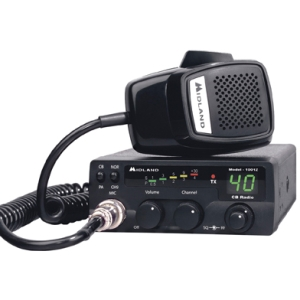 Midland 40-Channel Mobile CB Radio with PA 1001Z
