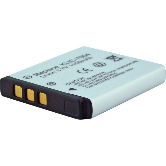 Denaq 1150mAh Li-Ion Camera/Camcorder Battery for KODAK DQ-RC7004-K