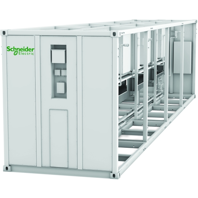 Schneider Electric EcoBreeze Frame 40' (12m) 480/3/60 VAC 8 Modules Installed ACECFR40200SE8