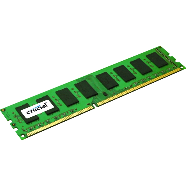 Crucial 8GB, 240-Pin DIMM, DDR3 PC3-12800 Memory Module CT8G3ERSLS4160B
