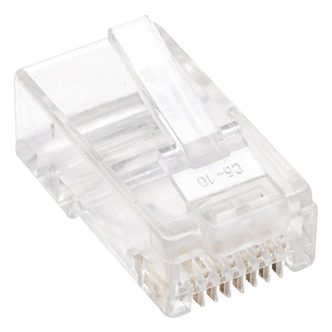 Intellinet 100-Pack Cat5e RJ45 Modular Plugs 790055