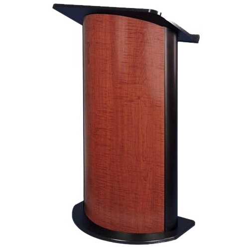 AmpliVox SN3145 - Curved Sippling Seattle Java Lectern sn3145
