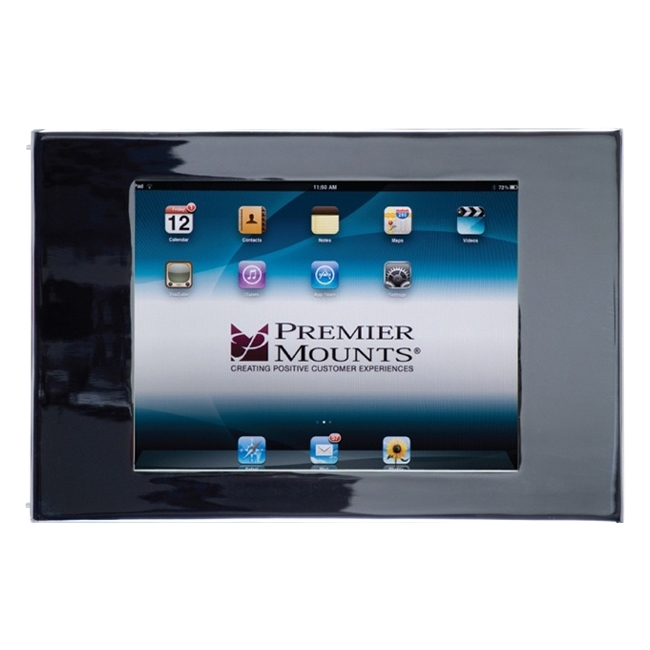 Premier Mounts Secure iPad Mounting Frame with Camera Access IPM-720