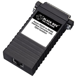 Black Box Asynchronous RS-232 To 2-Wire RS-485 Transceiver IC521A-M