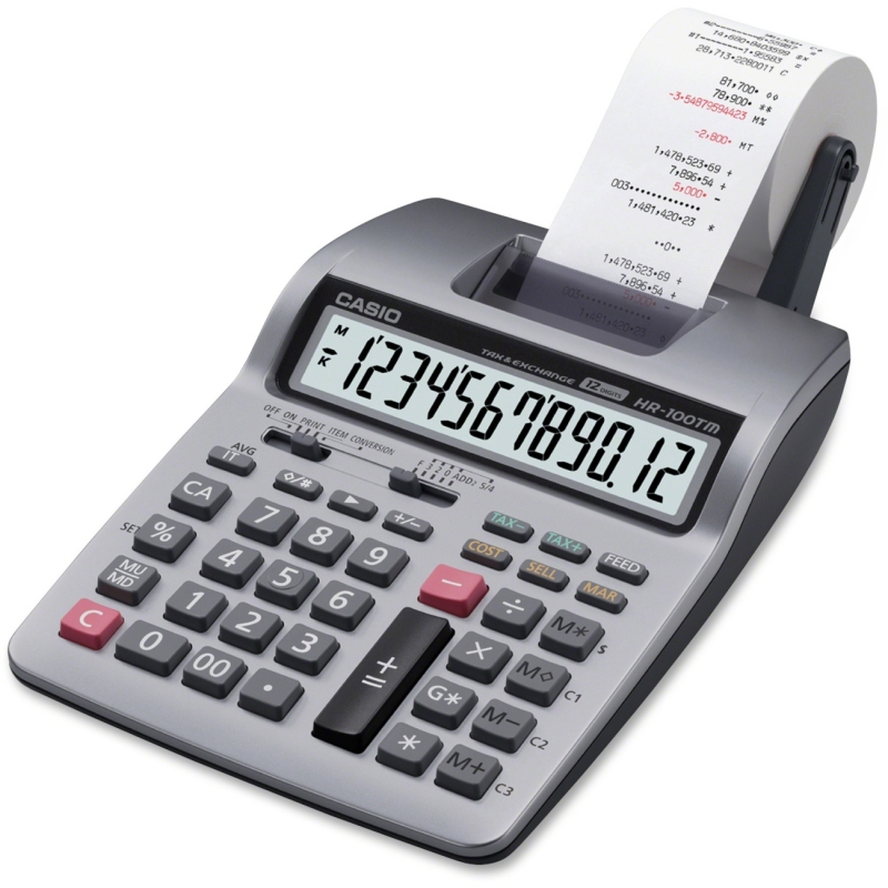 Casio Printing Calculator HR-100TM CSOHR100TM
