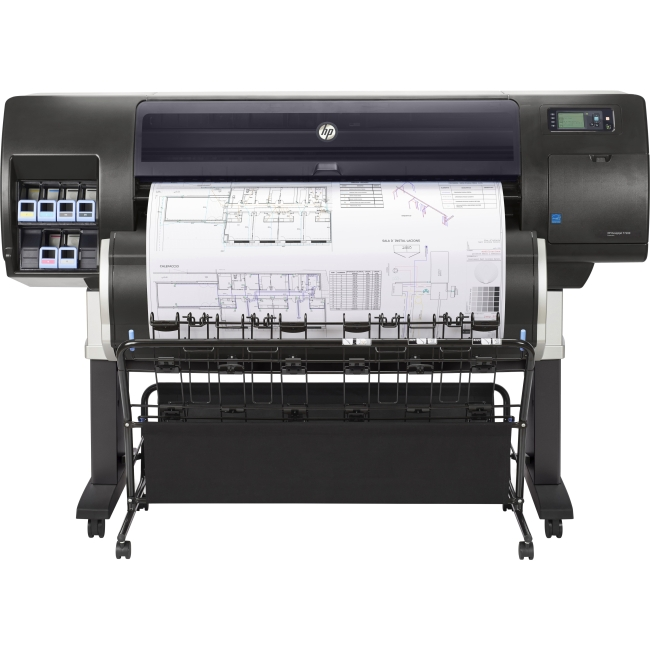 HP Designjet 42-in Production Printer with Encrypted Hard Disk (F2L46B) F2L46B#BCB T7200