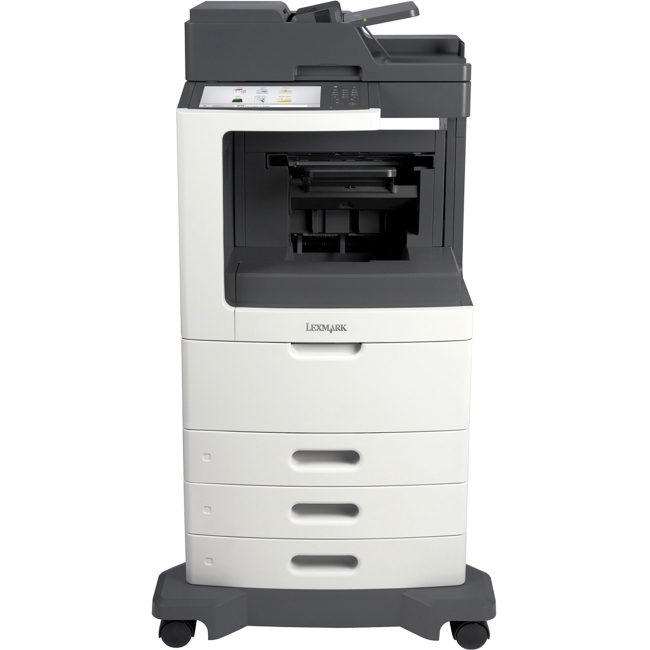 Lexmark Multifunction Printer TAA Compliant with Cac Enabled 24TT434 MX812DTFE
