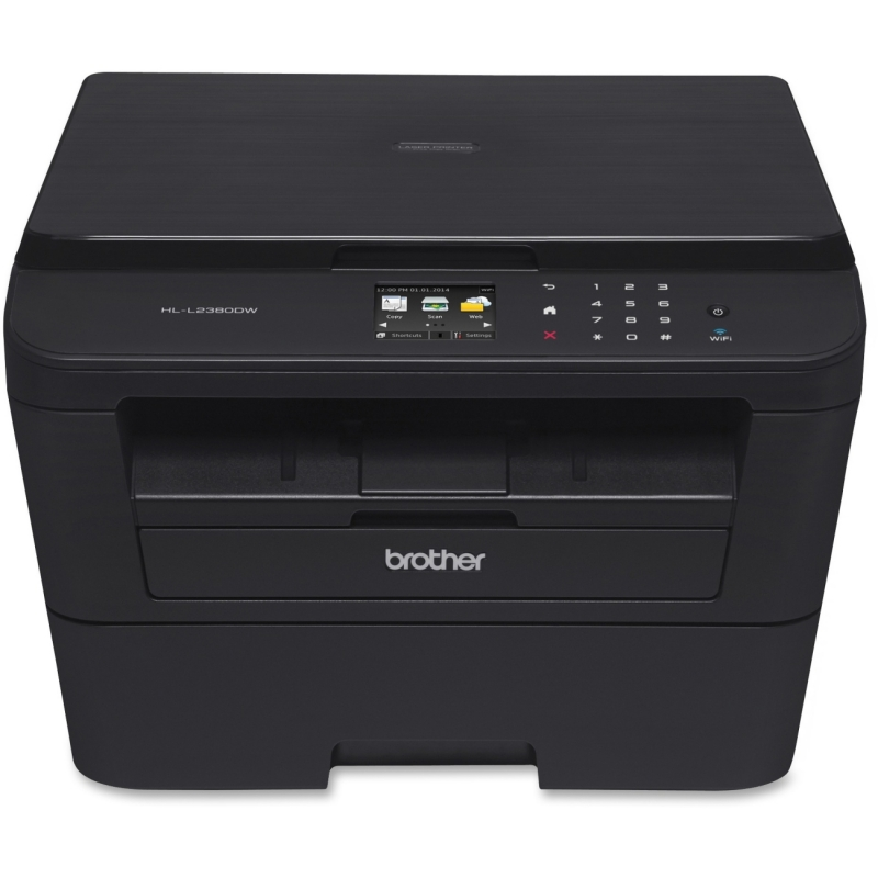 Brother Versatile Laser Printer with Wireless Networking and Duplex HL-L2380DW BRTHLL2380DW