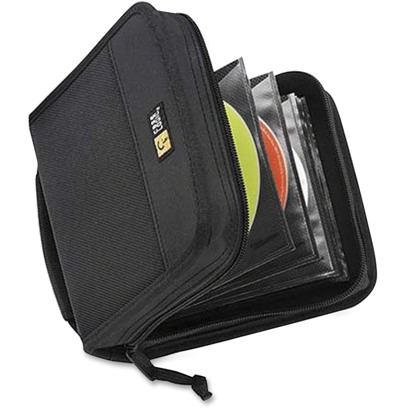 Case Logic 32 Capacity CD Wallet CDW-32BLACK CLGCDW32BLACK