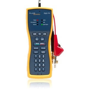 Fluke Networks Test Set + TDR, 4 MM Banana, Extra-large Alligator Clips, Test Probe TS54-BANA