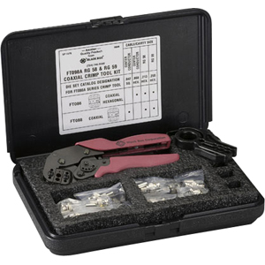 Black Box RG-58/59 Coax Crimp Tool Kit FT098A