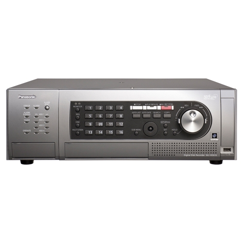 Panasonic 16-Channel H.264 Real-Time Digital Video Recorder WJ-HD616/3000T3