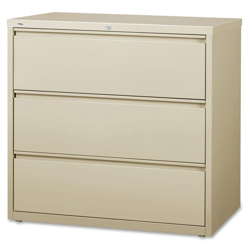 Lorell 3-Drawer Putty Lateral Files 88030 LLR88030