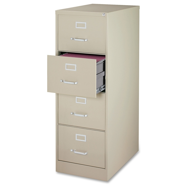 Lorell Commercial Grade 28.5'' Legal-size Vertical Files 88045 LLR88045