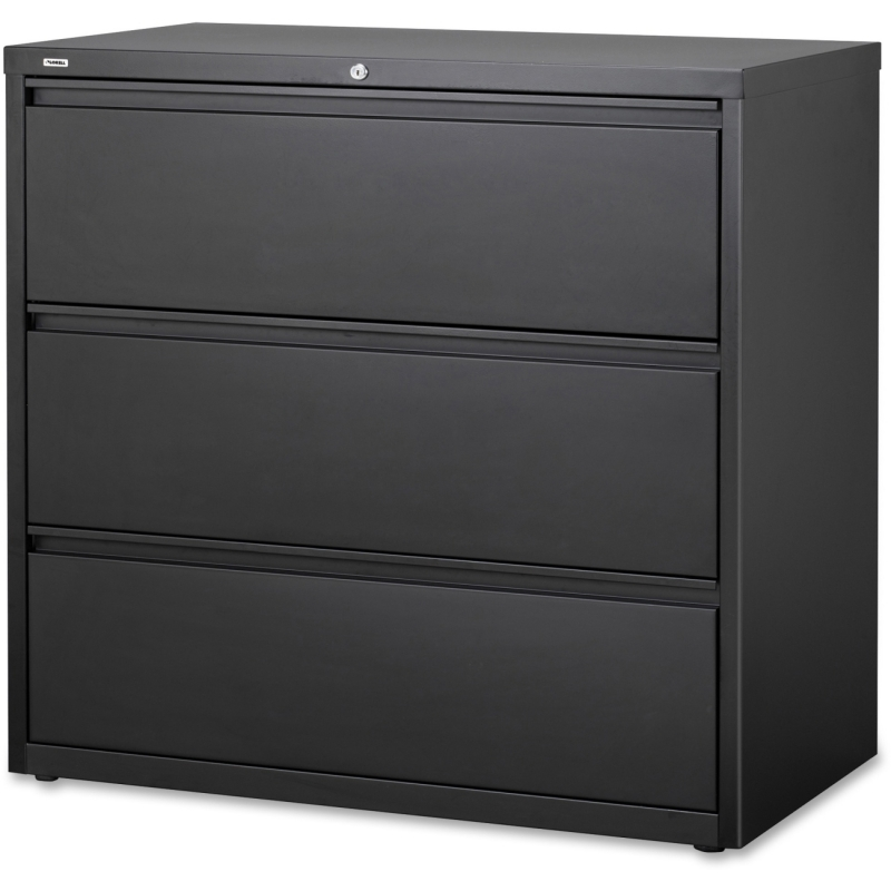 Lorell Hanging File Drawer Charcoal Lateral Files 66207 LLR66207