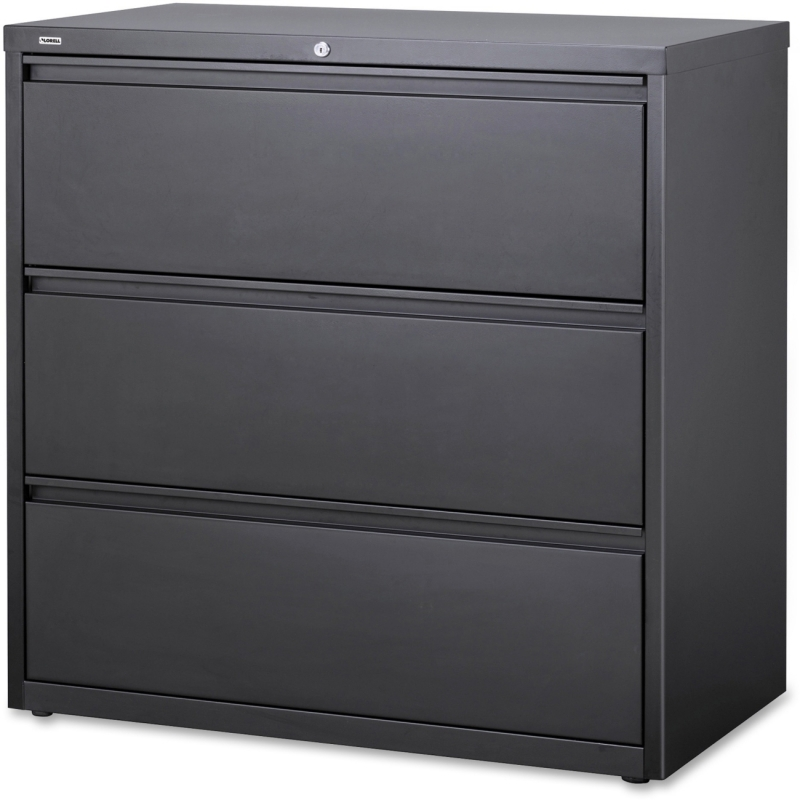 Lorell Hanging File Drawer Charcoal Lateral Files 60405 LLR60405