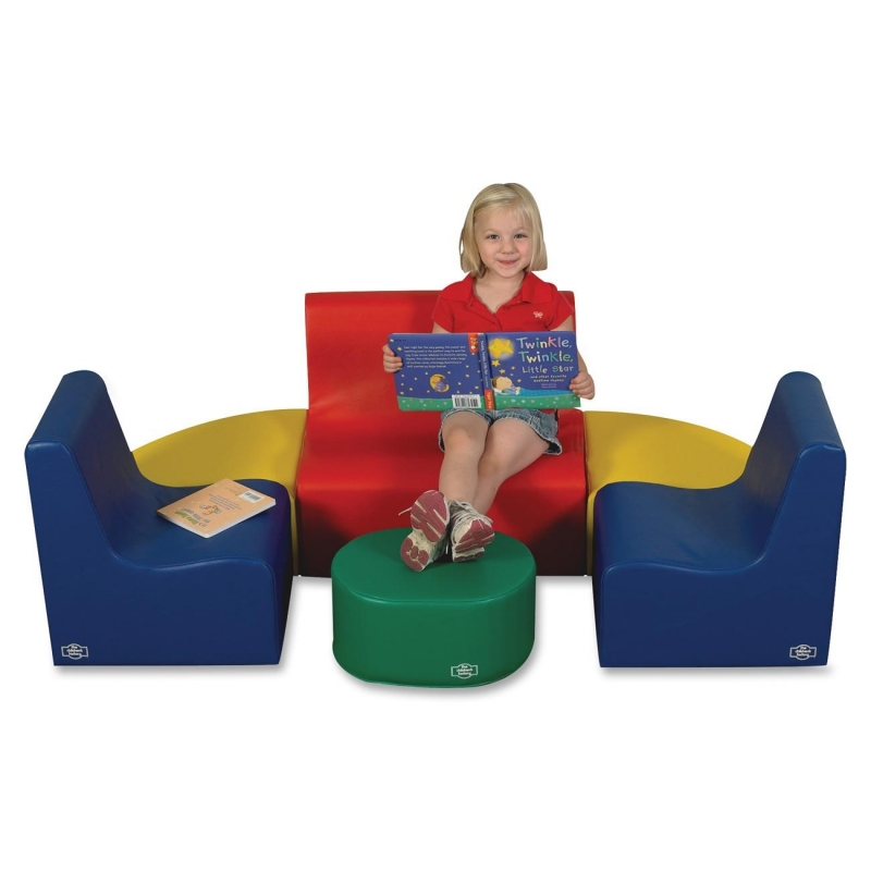 Childrens Factory Medium Tot Contour Seating Group 705557 CFI705557
