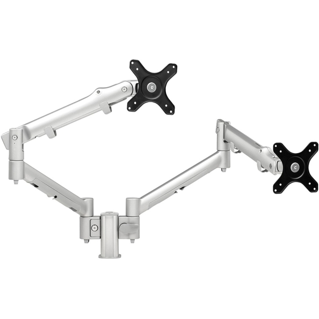 Systema Dual Monitor Spring Arm 100mm Post Desk Mount SDS10S