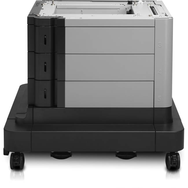 HP LaserJet 2x500/1500-Sheet High-Capacity Input Feeder with Stand B3M75A