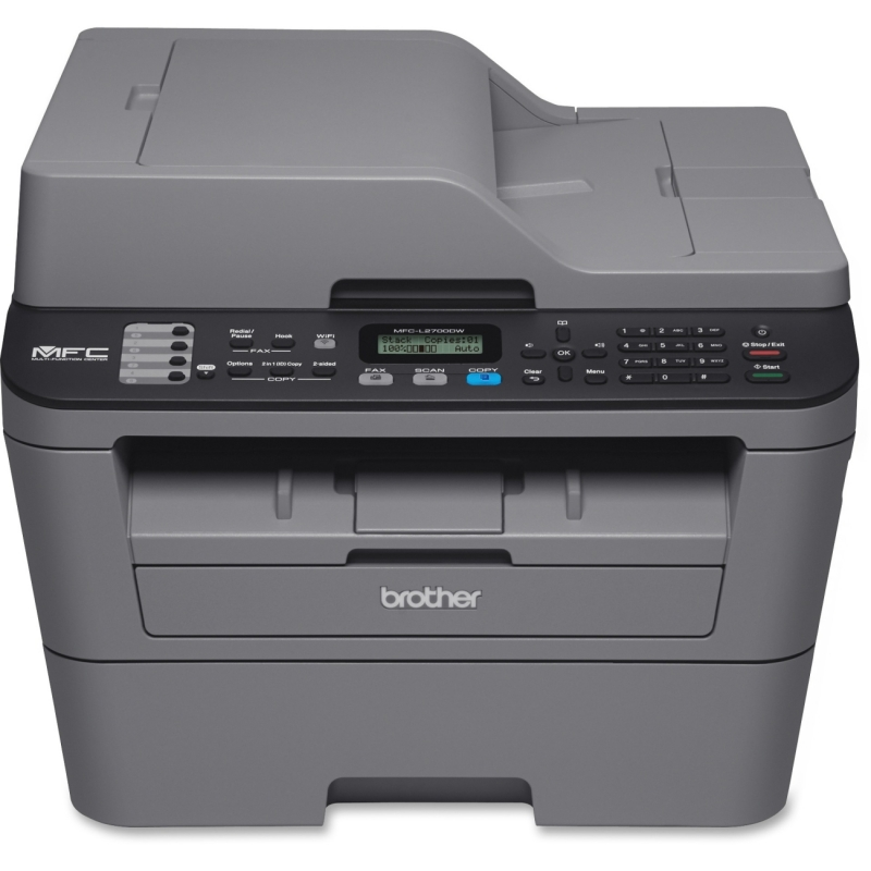 Brother Compact Mono Laser All-in-One Printer + Wi-Fi and Wired Network MFCL2700DW BRTMFCL2700DW MFC-L2700DW