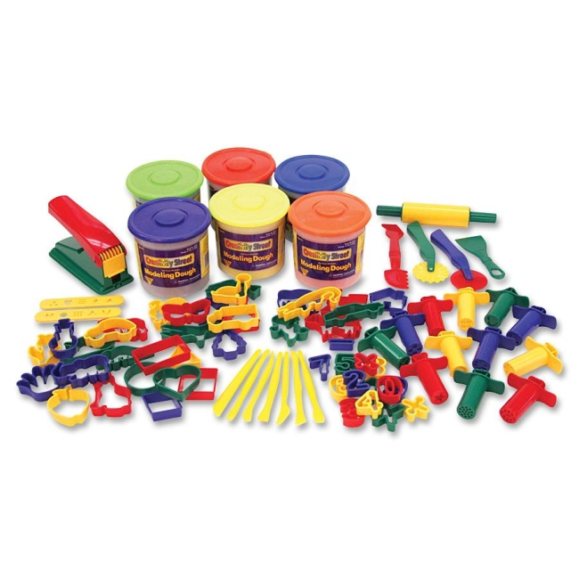 ChenilleKraft Classic 84pc Playdough and Tool Set 9783 CKC9783