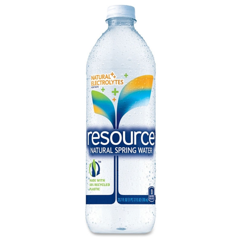 Resource Natural Bottled Spring Water 833144 NLE833144