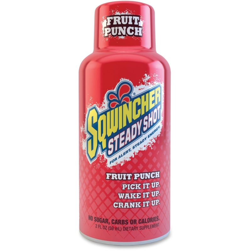 Sqwincher Steady Shot Flavored Energy Drinks 200501FP SQW200501FP