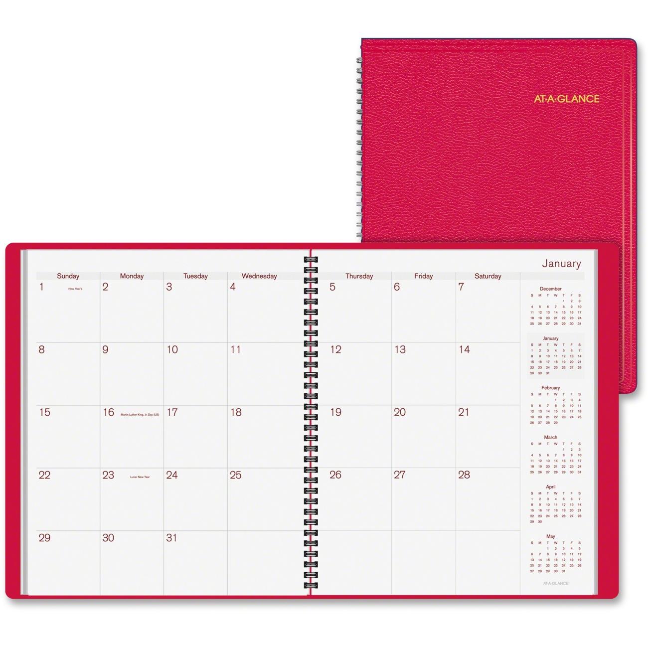 Monthly Calendar Book : Printer