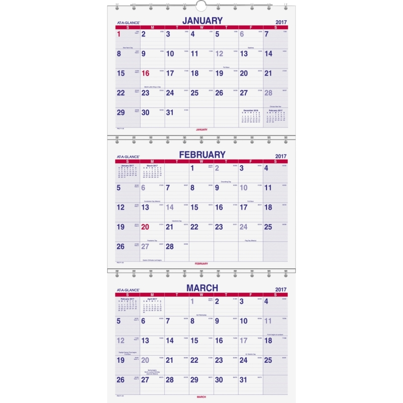 At-A-Glance Calender PMLF1128 AAGPMLF1128