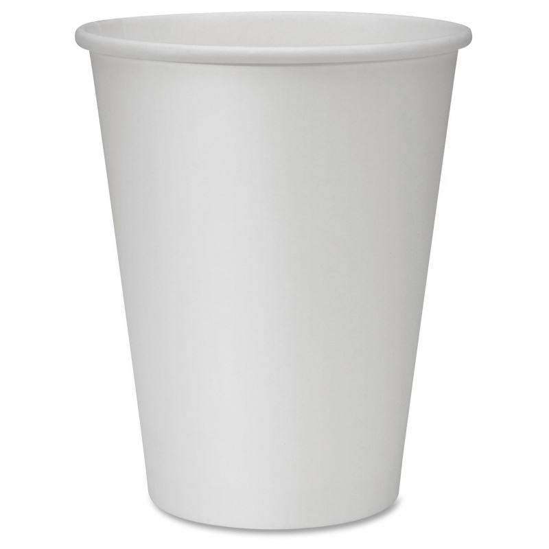 Genuine Joe Polyurethane-lined Disposable Hot Cups 19047PK GJO19047PK