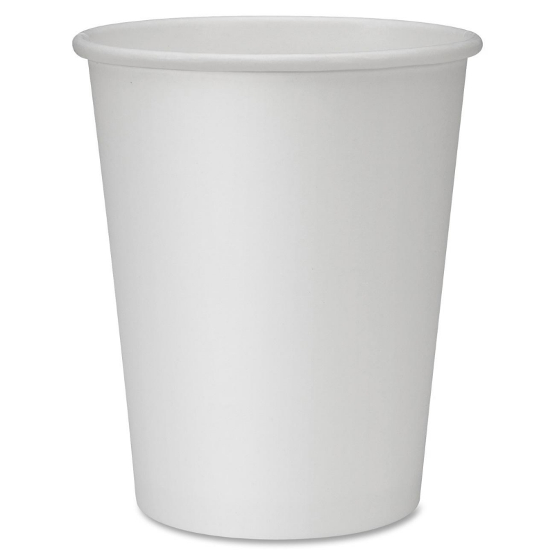 Genuine Joe Polyurethane-lined Disposable Hot Cups 19045PK GJO19045PK