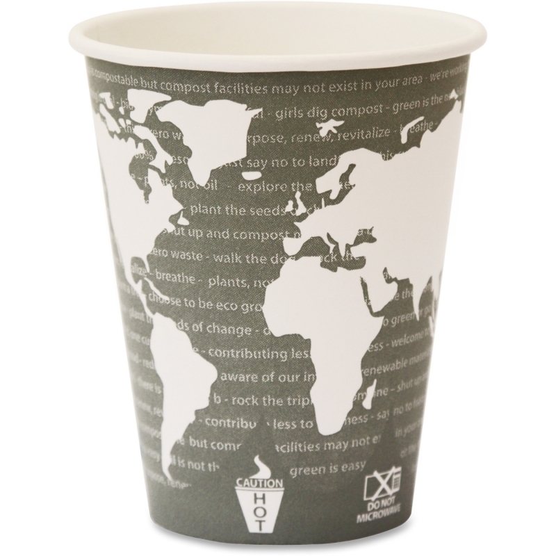 Eco-Products Eco-Products World Art Hot Beverage Cups EPBHC12WA ECOEPBHC12WA