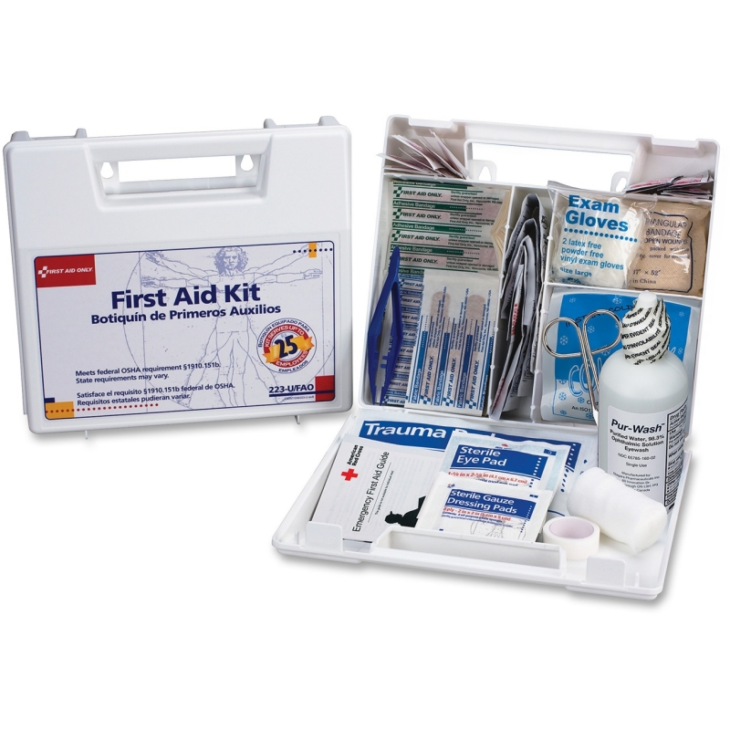 First Aid Only 25 Person Bulk First Aid Kit 223UFAO FAO223UFAO