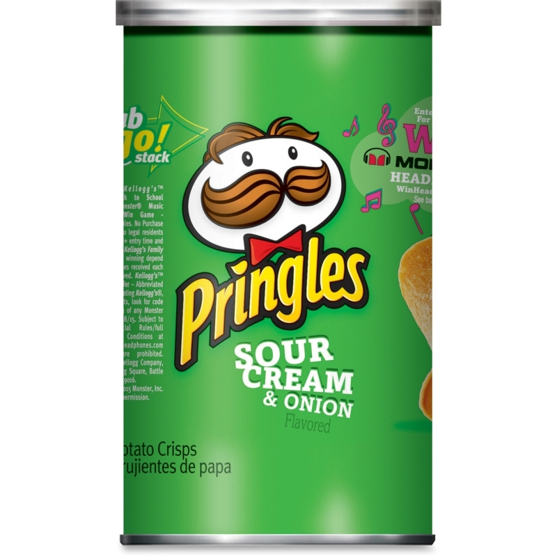 Pringles Onion Grab/Go Potato Crisps 84560 KEB84560