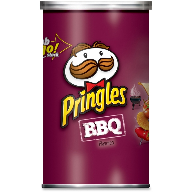 Pringles BBQ Grab/Go Potato Crisps 84562 KEB84562