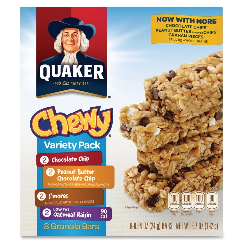 Quaker Oats Foods Chewy Granola Bar Variety Pack 31188 QKR31188
