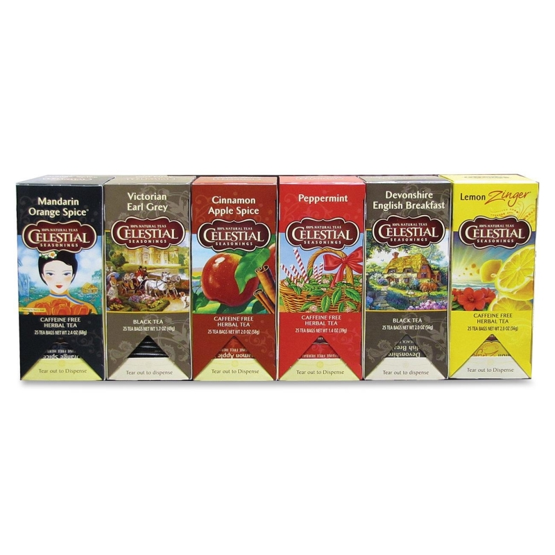 Celestial Seasonings Assorted Teas 46003 CST46003