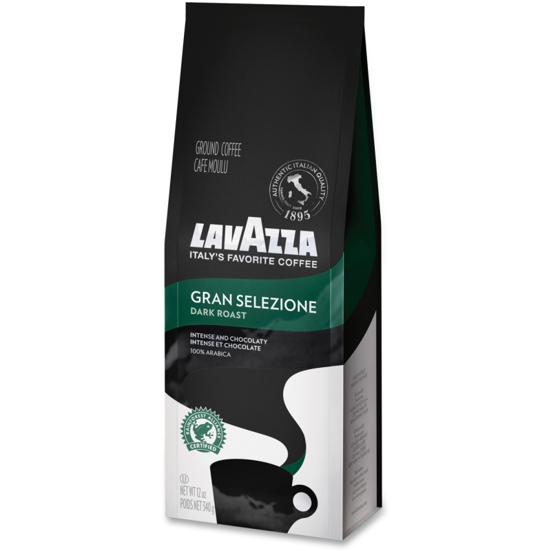 Lavazza Gran Selezione Dark Roast Ground Coffee French Press 7512 LAV7512