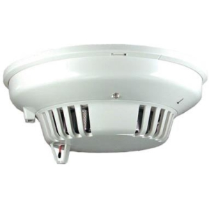 Bosch Four-Wire Smoke/Heat Detector with Auxiliary Relay and Sounder D273THCS