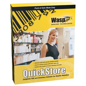 Wasp Wasp QuickStore Point of Sale Solution Professional Edition - Product Upgrade - 1 User 633808471118