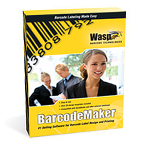 Wasp Wasp BarCode Maker - Complete Product - 1 PC 633808105167
