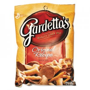 General Mills Gardetto's Snack Mix, Original Flavor, 5.5oz Bag, 7/Box AVTSN43037 SN43037