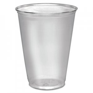 Dart Ultra Clear Cups, Tall, 10 oz, PET, 50/Pack DCCTP10DPK DCC TP10D