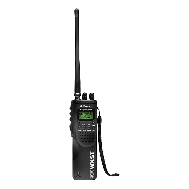 Cobra Hand Held CB Radio with Weather & SoundTracker HH 38 WX ST
