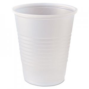Fabri-Kal RK Ribbed Cold Drink Cups, 5 oz, Clear, 2500/Carton FABRK5 9508020