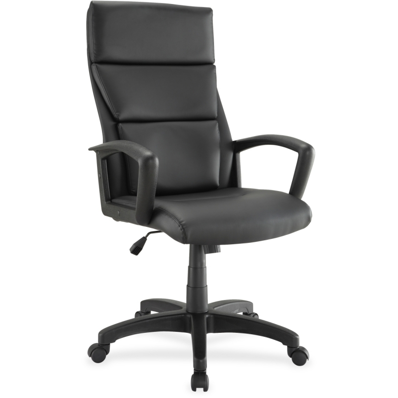 Lorell Euro Design Lthr Executive High-back Chair 84569 LLR84569